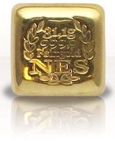 Norddeutsche Goldbarren 1 Unze