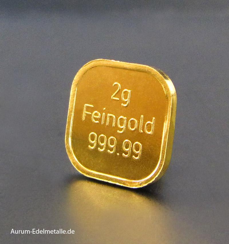 2g-Goldbarren-Superfeingold 999.99 NES