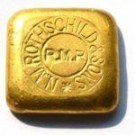 50-Gramm-Rothschid-Goldbarren