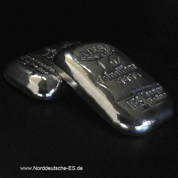 Norddeutsche-ES-1-Unze-Silber-9999