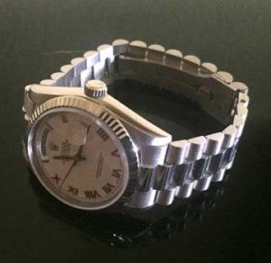 Uhren Ankauf Rolex-Daydate-Weissgold