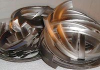 Edelmetallrecycling Silber Targets