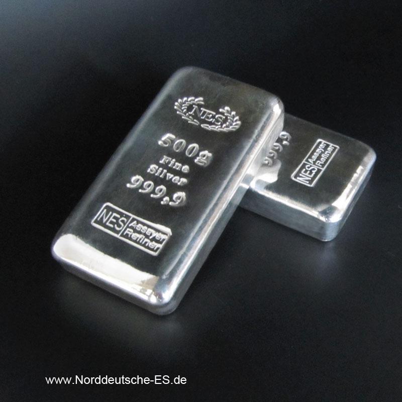 Silberbarren-500g-Feinsilber-Norddeutsche-ES