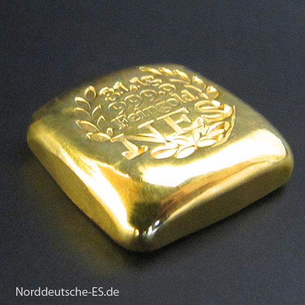 Goldbarren-1 Unze-Feingold-9999 NES