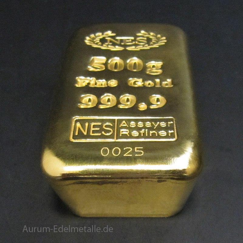 Goldguss Norddeutsche Sheideanstalt